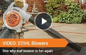 Watch Video - STIHL Blowers